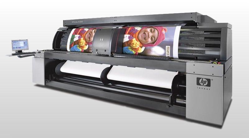 Solvent printing / HP Scitex XLJet 1500