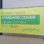 Heras Fence Cover