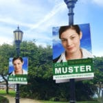 election posters on PP correx