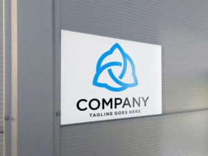 Foam PVC with company logo