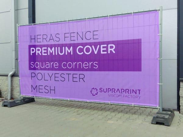 heras fence airtex cover
