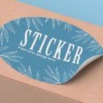 printed stickers in any shape